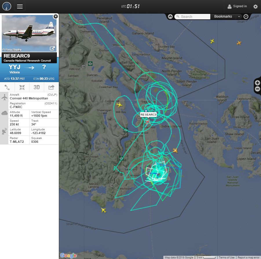 FlightRadar24.com Screenshot